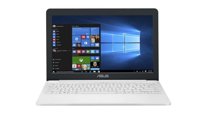 Asus VivoBook E203NA-FD021T ©Asus, Microsoft