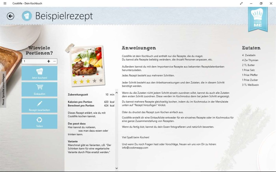 kochbuch erstellen mit eigenen rezepten