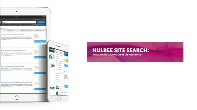 Hulbee Site Search©Hulbee AG
