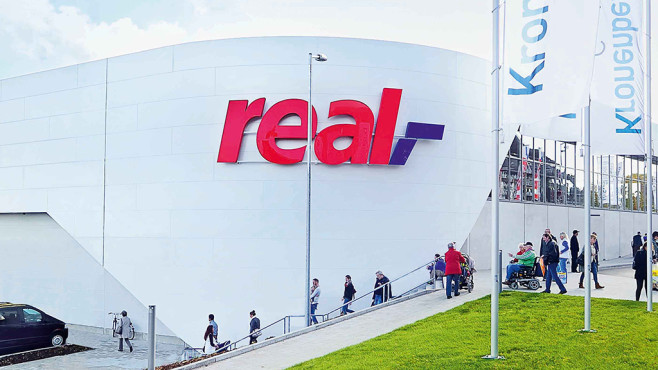 Real: Supermarkt © Real