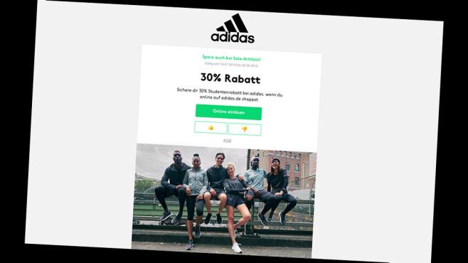 picked up arriving reasonable price Adidas: 30 Prozent Studentenrabatt erhalten - COMPUTER BILD