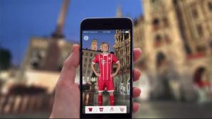 FC Bayern: App©FC Bayern