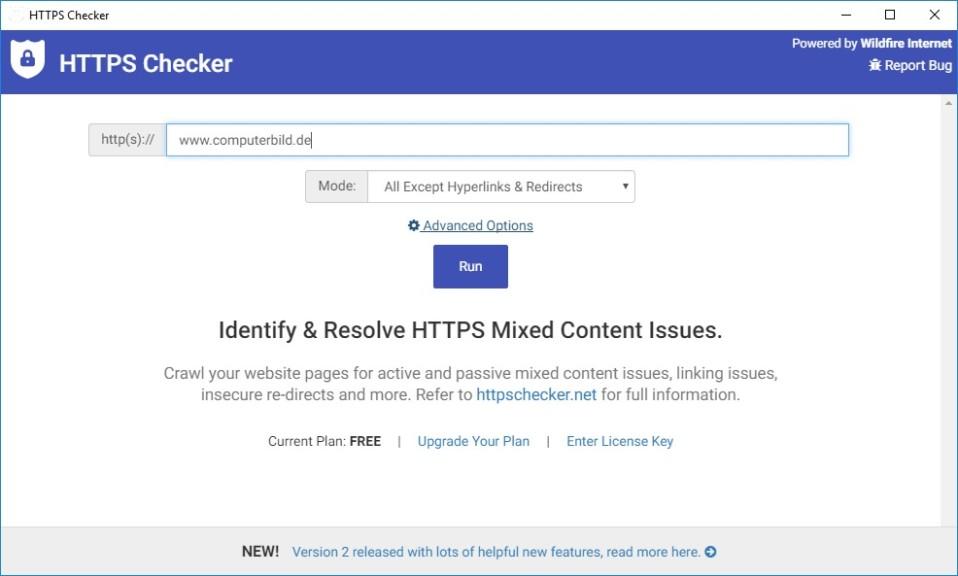 Screenshot 1 - HTTPS Checker