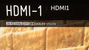 Der LG OLED 55E7 setzt sich an die Spitze Der LG E7 beherrscht auch den HDR-Standard Dolby Vision, der von wenigen UHD-Blu-rays wie den ersten beiden Minions-Filmen genutzt wird.©COMPUTER BILD