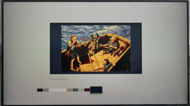 Samsung The Frame: Anpassbare Hintergründe ©COMPUTER BILD