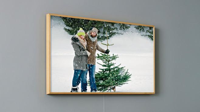 Samsung The Frame: Holzrahmen ©Samsung
