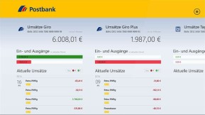 Postbank Finanzassistent (App für Windows 10 & 8)