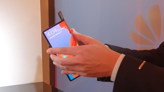 Huawei Mate X: Klappmechanismus©COMPUTER BILD