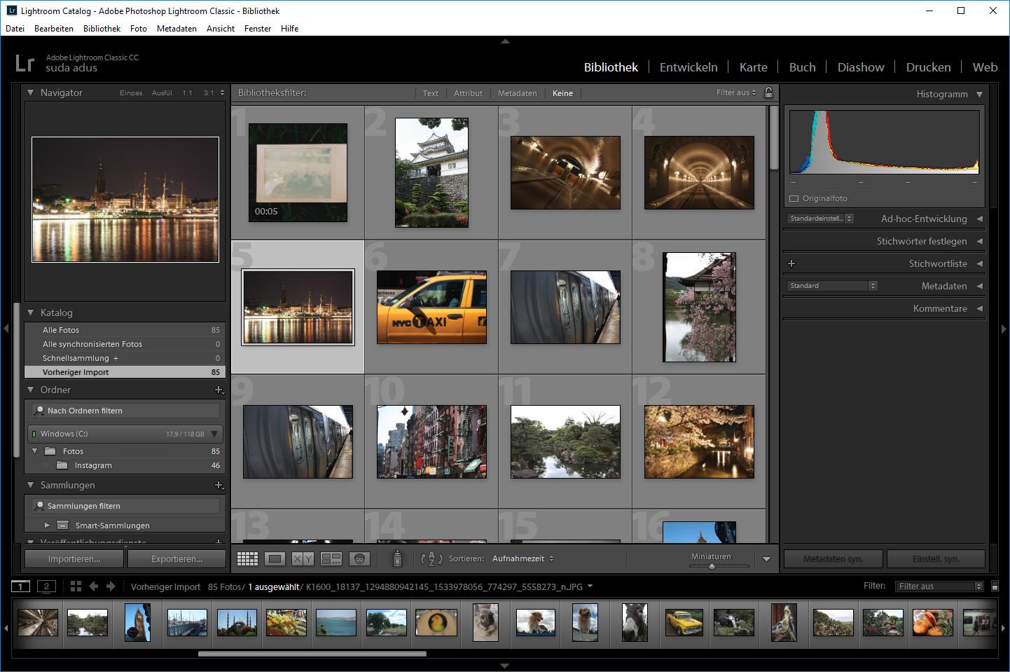 Screenshot 1 - Adobe Photoshop Lightroom Classic CC