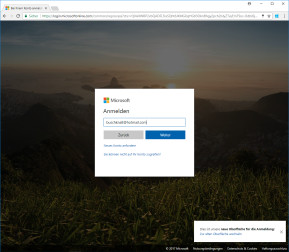 Windows 10 Accounts für Chrome