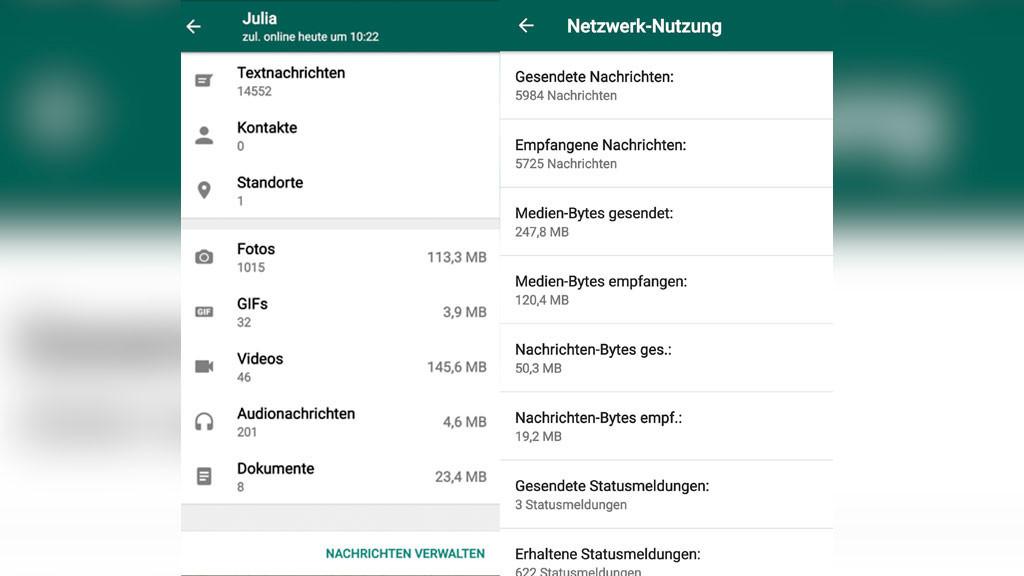 Whatsapp Statistik Für Android Und Ios Computer Bild