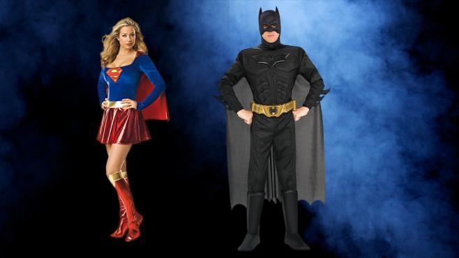 Halloween-Kostüm – Superhelden©iStock.com/ClaireMcAdams, Rubie's