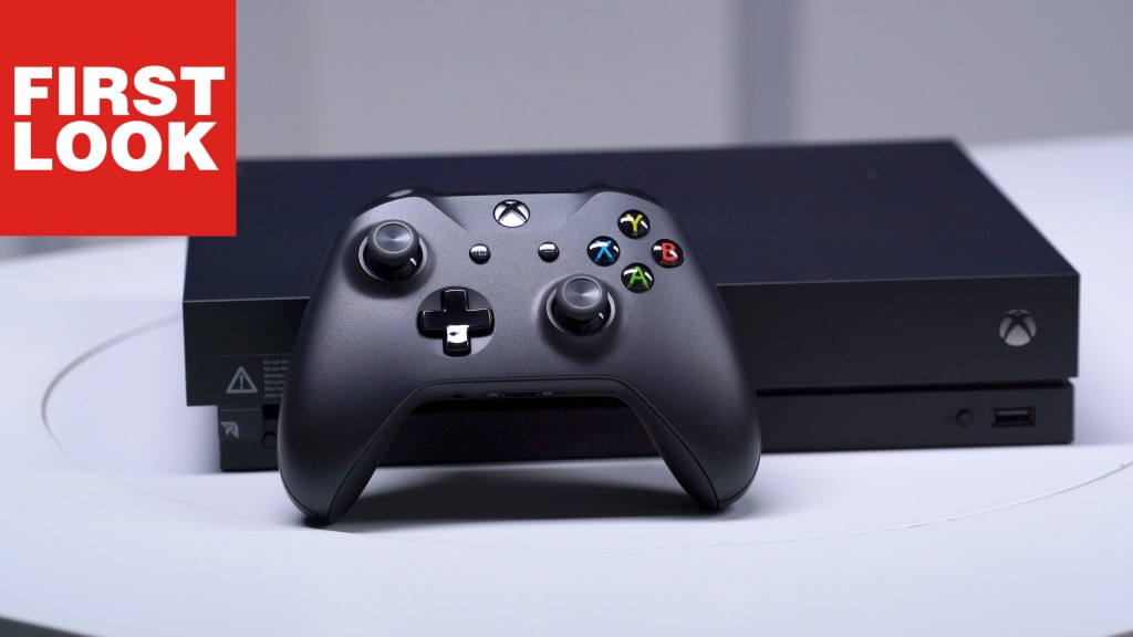 xbox one x im unboxing first look auf die monster konsole. Black Bedroom Furniture Sets. Home Design Ideas