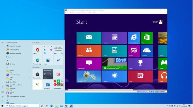VirtualBox-Snapshots: Wegwerf-Windows – experimentieren und hemmungslos surfen Auch Windows 8.0, für den regulären Betrieb zu alt, lässt sich virtualisieren.©COMPUTER BILD