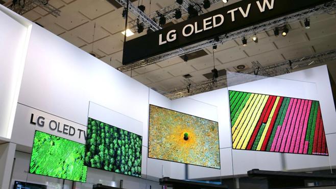 OLED Fernseher: Richtig einstellen, Einbrennen vermeiden OLED-Fernseher sind wegen ihrer guten Bildqualität begehrt, die dafür verwendeten OLED-Bildschirme kommen bislang alle von LG.©LG Electronics