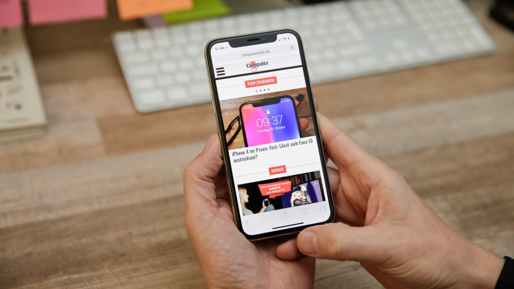 iPhone X  Bedienung ohne Home-Button © COMPUTER BILD. Ausgangspunkt ... 1e900e3106