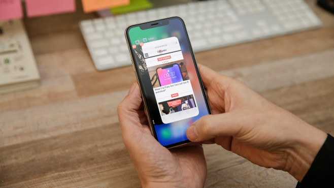iPhone X: Bedienung ohne Home-Button © COMPUTER BILD