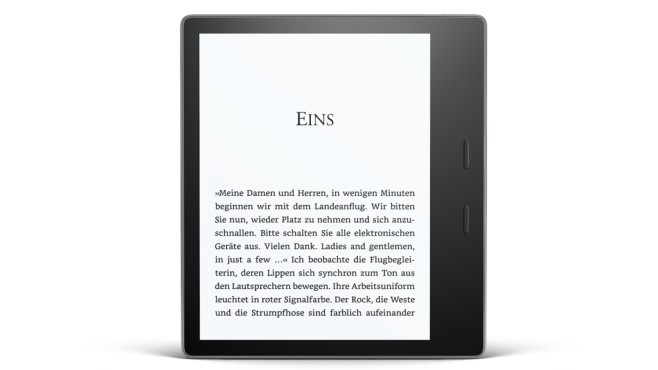 eBook-Reader Amazon Kindle Oasis 2017 © Amazon
