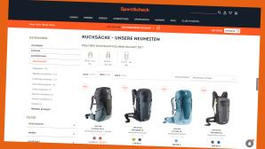 20 Prozent sparen bei Sportscheck.de©Screenshot www.sportscheck.de