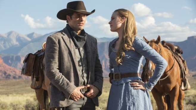 Westworld: James Marsden und Evan Rachel Wood © HBO