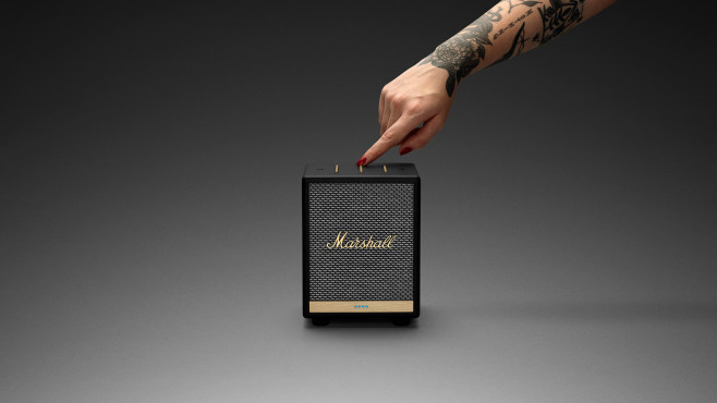 Alexa-Lautsprecher im Test: Marshall Uxbridge Voice mit Alexa©Marshall