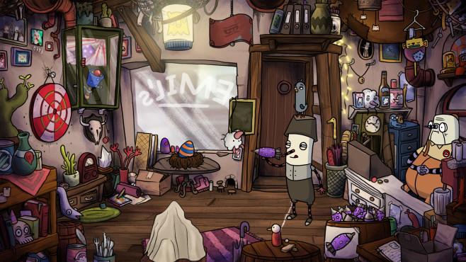 The Inner World – Der letzte Windmönch©Headup Games