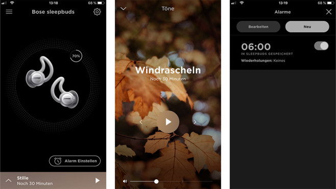 Bose Sleepbuds App©COMPUTER BILD