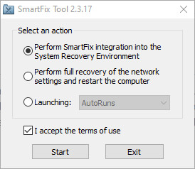 Screenshot 1 - SmartFix Tool