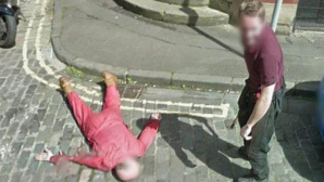 Mord in StreetView-Foto? © Google