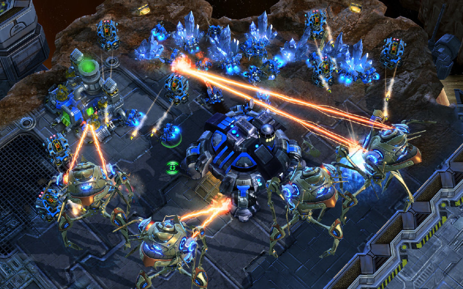 Screenshot 1 - StarCraft 2: Wings of Liberty