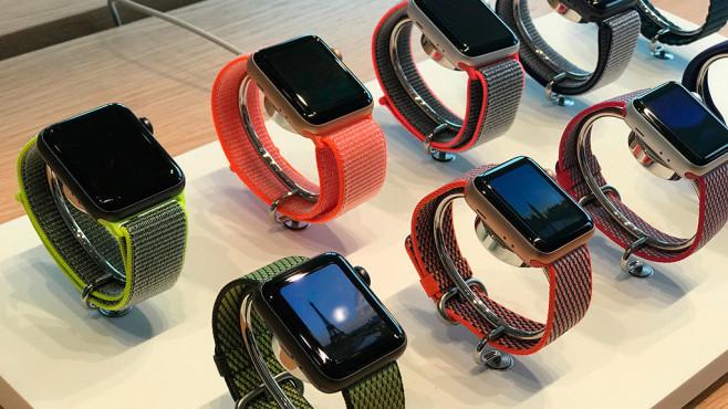Apple Watch Series 3 in verschiedenen Farben©COMPUTER BILD
