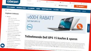 Sparen mit Online-Gutschein bei Cyberport©PR/Screenshot www.cyberport.de