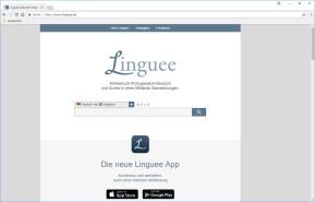 Linguee-Wörterbuch