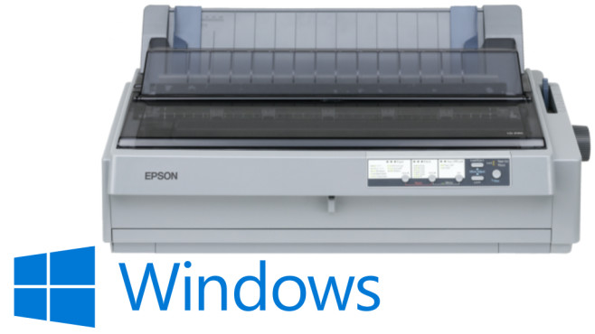Epson LQ-2190©Epson, Microsoft