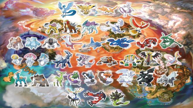 """Pokémon – Ultrasonne & Ultramond: Am Ende steht der Spaß In """"Ultrasonne & Ultramond"""" lassen sich alle legendären Pokémon der letzten Spielegenerationen fangen.©The Pokemon Company"""