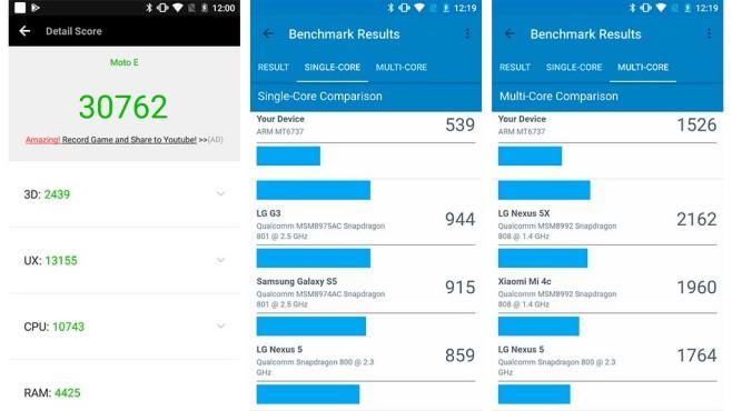 Motorola Moto E4 Plus im Praxis-Test©COMPUTER BILD
