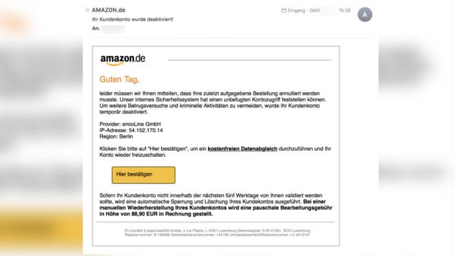 Amazon Bestellung Email Deaktivieren