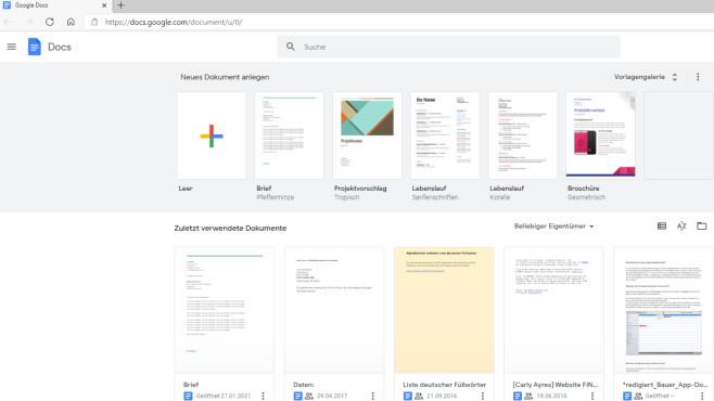 Google-Tools und -Apps: Kostenlose Software vom Internet-Giganten Google Docs macht Sie frei von dem Zwang, eine Office-Software zu installieren.©COMPUTER BILD