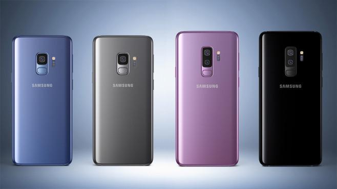 Samsung Galaxy S9 und Galaxy S9 Plus©Samsung