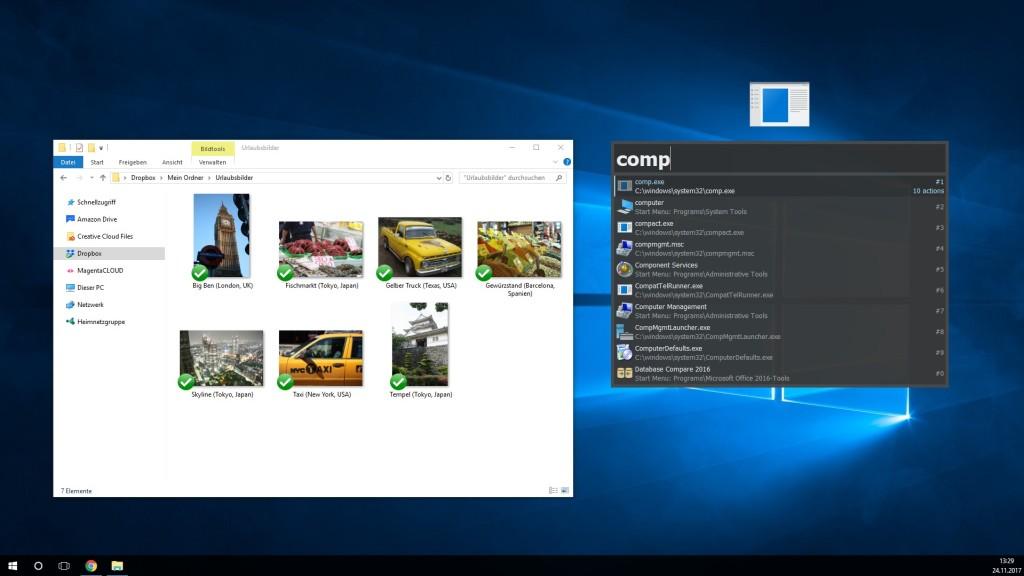 Screenshot 1 - Keypirinha