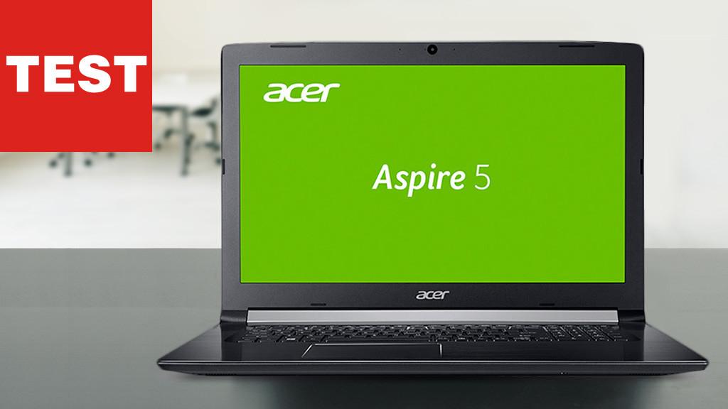 acer aspire 5 test des 15 zoll notebooks computer bild. Black Bedroom Furniture Sets. Home Design Ideas
