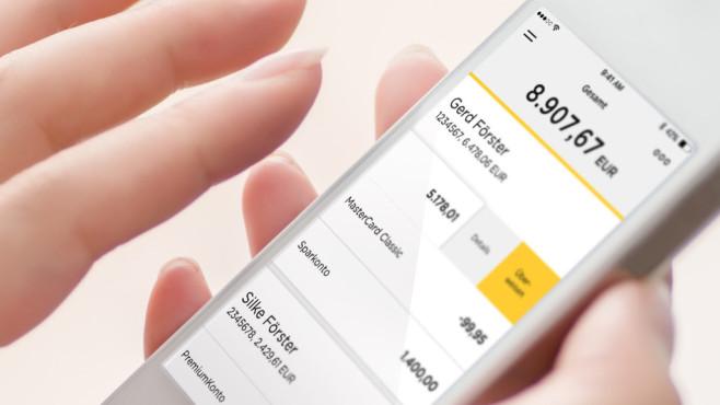 Banking-App der Commerzbank©Commerzbank AG