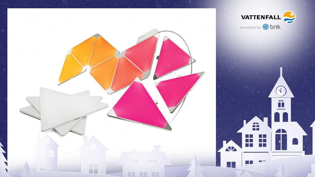 Gewinnen Sie ein Aurora Starter-Kit von Nanoleaf. ©Nanoleaf, ©istock/thanaphiphat