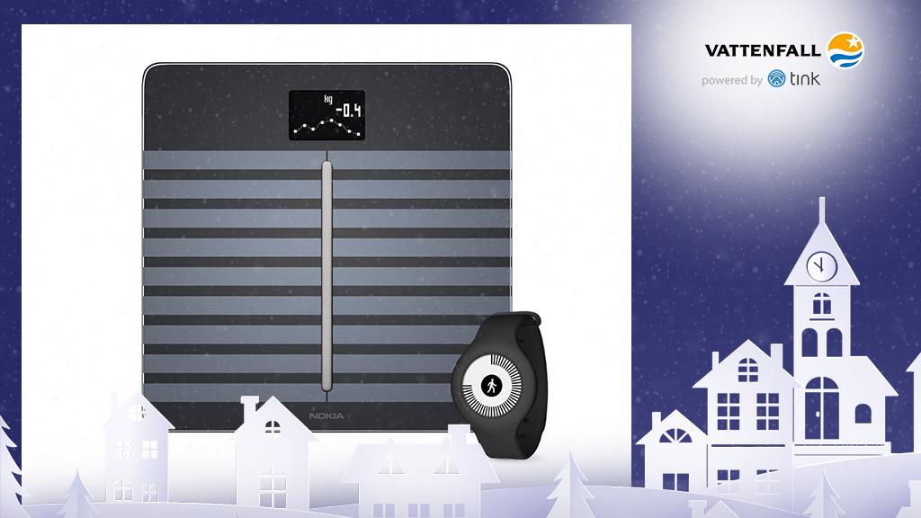 Gewinnen Sie eine Body Cardio WLAN-Waage und einen Go Fitnesstracker von Nokia ab ©Nokia, �istock/thanaphiphat
