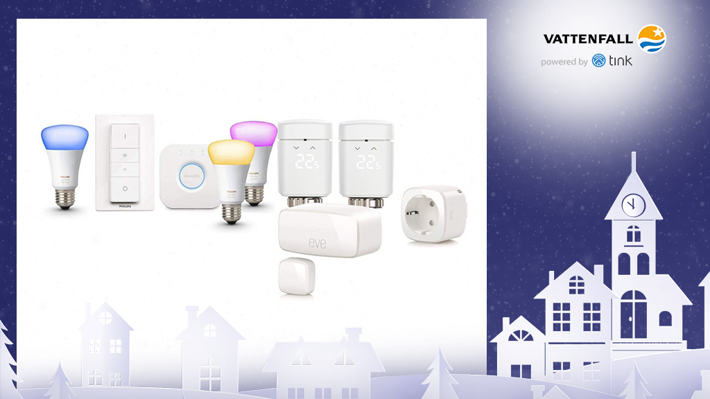 Gewinnen Sie ein Home-Kit Smart Starter von Apple und ein Hue White and Color Ambiance E27 3er Starter-Set von Philips.  © Elgato, Philips, ©istock/thanaphiphat