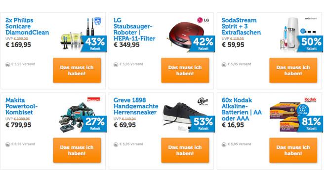 Daily Deals bei iBood©iBood Screenshot