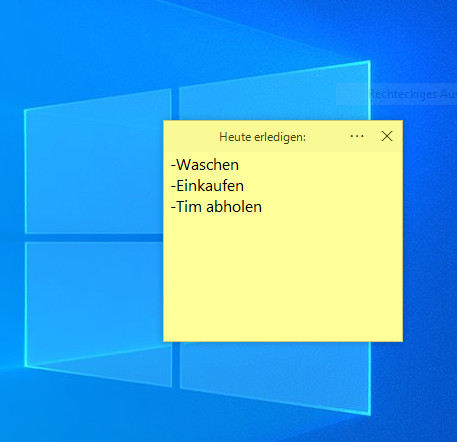 Screenshot 1 - Simple Sticky Notes