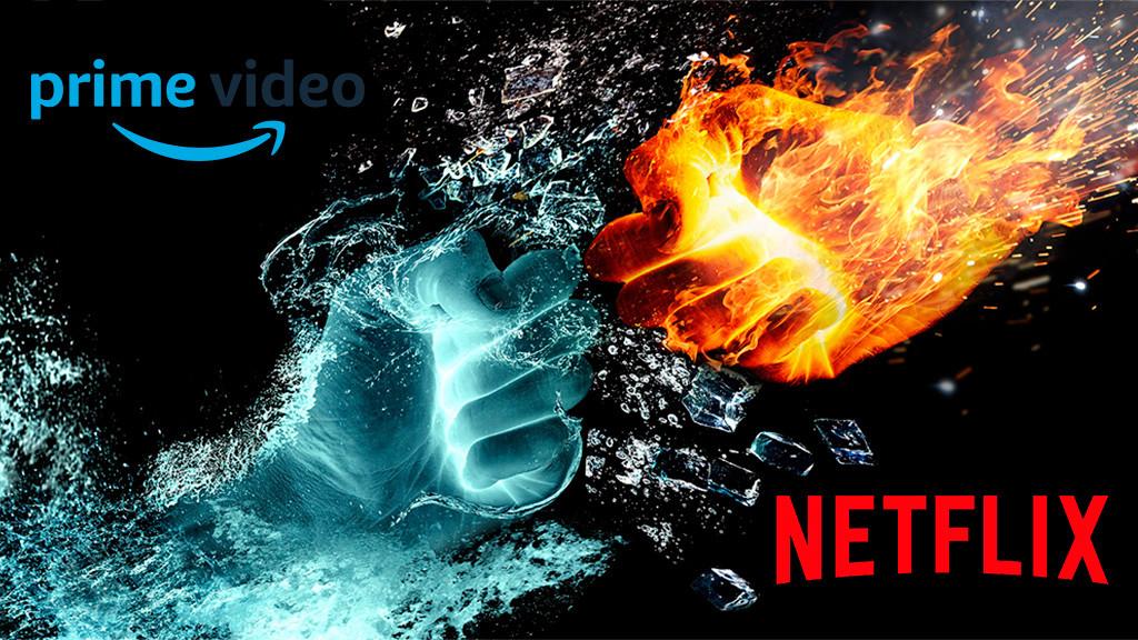 Vergleich Netflix Amazon Prime