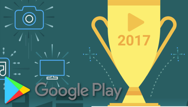 Die besten Apps und Spiele 2017©Google