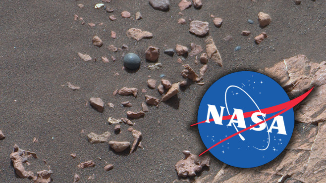 Mars Kugel©NASA (Montage)